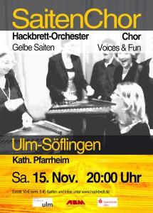 Saiten_Chor DIN A6 Flyer